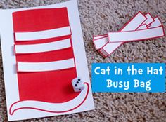 Toddler Time: Busy Bag Exchange Part 3 ( & Freebie!) - Second Story Window