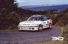 Burns - - Photo via: Prodive John Collins, Subaru Legacy, Manx, Rally Car, Sport Cars, Peugeot, Cool Cars, Toyota, Racing