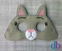 Whether it's a last minute costume change a few weeks before Halloween or everyday creative play, this handmade embroidered mask is the perfect addition to take your kiddo on a special adventure. Or a great solution to your costume party dilemma.  We ...