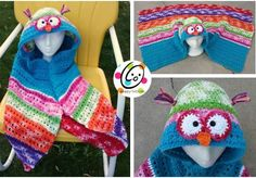 hooded owl crochet pattern