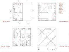 Casa Poli,Plantas Staircase Design Modern, Modern Design, Pezo Von Ellrichshausen, House Plans, Floor Plans, How To Plan, Inspiration, Villas, Dreams