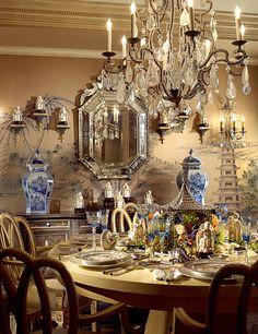 ralph lauren blue and white decor - Google Search