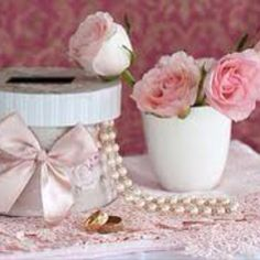 Petals and lace money box google images