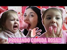 Cristi Bolivar Family - YouTube Challenge, Pink, Youtube, Sisters, Food, Rose, Youtubers
