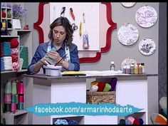 Colorgin no Ateliê na TV - Pintura sobre gesso e MDF - YouTube