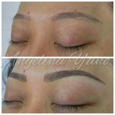 Eyebrow, hairstroke