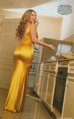 Mariah Carey at George V Hotel in Paris