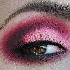 Red Smokey eye--beautiful and simple