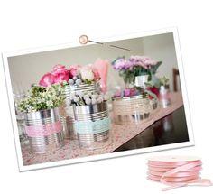 DIY centre de table : Les boites font dans la dentelle ! | Deco de Mariage et Deco de Fete