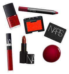 """RED NARS"" by loveclo on Polyvore featuring Belleza y NARS Cosmetics"