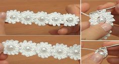 Today you are going to learn how to crochet a beautiful mini flower chain. This is the tutorial that is going to benefit both: advanced crochet enthusiasts and the beginners as well. Learning to crochet stitches is the single most important part in the crochet journey. Afterwards you are going to learn how to apply… Read More Crochet Mini Flower String