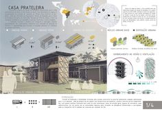 Imagem 2 de 31 da galeria de Resultados do concurso estudantil  de arquitetura bioclimática da IX Bienal José Miguel Aroztegui / Abrigos de Emergência. Primeiro Lugar - Prancha 1. Image Cortesia de  IX Bienal José Miguel Aroztegui