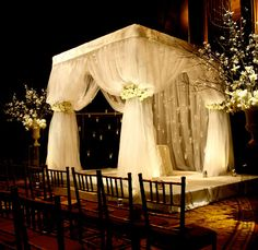Thick Canopy Wedding by DeJuan Stroud