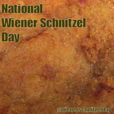 National Wiener Schnitzel Day - September 9, 2016