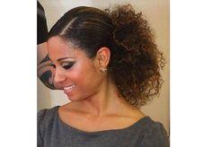 Penteado cabelos crespos 5