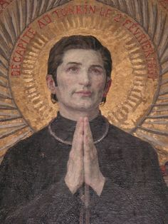 St. Jean-Théophane Vénard, a French missionary to Vietnam who was martyred for the faith. Famous for having inspired St. Therese of Lisieux... Due to the persecutions of the anti-Christian emperor Minh-Menh, priests were forced to hide in the forest and live in caves.... someone betrayed St. Jean, & he was arrested. During his trail,he refused to renounce his faith in order to save his life. He was condemned to death,& spent the last few weeks of his life locked in a cage & was beheaded…