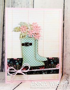 Flower Boots by The Stamps of Life, via Flickr