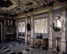 Rosenborg Castle, marble room. Copenhagen