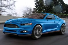 Ford Mustang: render della nuova generazione