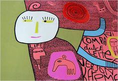 marinearte: Milo Lockett - Pintor Argentino