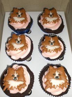 pomeranian cupcake #pomeranian cupcakes