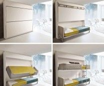 Small Spaces: Urban Lollisoft Murphy Bunk Beds