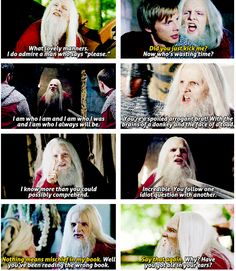 "Old Merlin. ""I am who I am and I am who I was and I am who I will always be."""