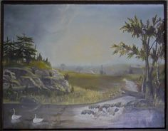 19th C. Painting, Oil on Canvas, W.W. BOYDEN, 1878 : Lot 59  www.JJamesAuctions.com
