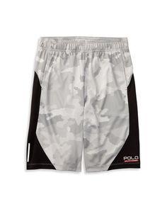 Ralph Lauren Childrenswear Boys' Camouflage Athletic Shorts - Sizes S-xl