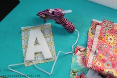 wrap styrofoam letters with fabric Styrofoam Letters, Flamingo Ornament, Glue Gun, Stand Tall, Coastal, Guns, Wraps, Lettering, Ornaments
