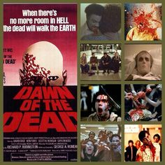 Best Zombie Movies, George Romero, Walk The Earth, Zombies, Dawn, Movie Tv, Horror, World, Artwork