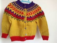 Image result for icelandic sweaters kids knit pattern