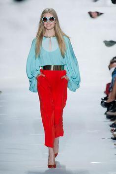 Diane von Furstenberg S/S '13 love the color combo.