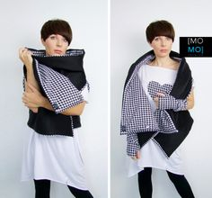 Houndstooth Vest by momo from MOMO FASHION by DaWanda.com