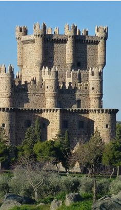Castle of Guadamur, Spain