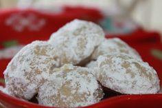 Christmas Cookies -- Walnut Buttons
