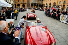 """""""The first woman to drive and finish Italy's Mille Miglia while going solo"""" - """"The Mille Miglia as a Solo Woman"""" by @nomadbiba"""