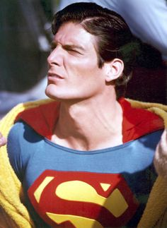 Christopher Reeve as Superman (1978) Classic Series and still going strong. Such a Sweetheart!!! ♥