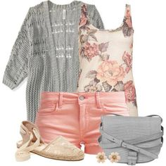 Cute spring outfit..