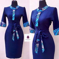 Short African Dresses, Latest African Fashion Dresses, African Inspired Fashion, African Print Fashion, Africa Fashion, Women's Fashion Dresses, African Attire, African Wear, Kente Dress