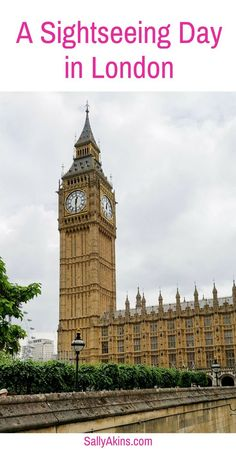 Spend a sightseeing day in London (UK)seeing some of the city's main sights including the London Eye, the Houses of #Parliament, Downing Street, Buckingham Palace, Trafalgar Square and other major London #tourist attractions. Travel in Europe.