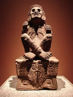 Statue of Xochipilli (From the National Museum of Anthropology, Mexico City).