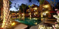 Hochzeitsreise Bali, Segara Village, Sanur Beach Honeymooner erhalten bei Ankunft Früchte, Blumen und einen Kuchen bis 31.10.2012.