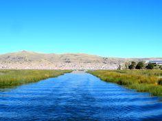 Lac Titicaca, Pérou#Le lac Titicaca est le plus haut lac navigable du monde…