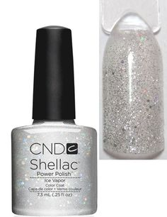 cnd shellac ice vapor - have Cnd Colours, Cnd Shellac Colors, Gel Nail Colors, Polish Nails, Shellac Nails, Glitter Nails, Creative Nail Designs, Creative Nails, Work Nails