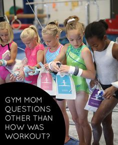 25 Questions to ask your gymnast, other than how was workout? | Kids gymnastics