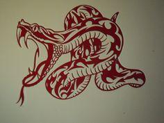 The snake : Décorations murales par millerun