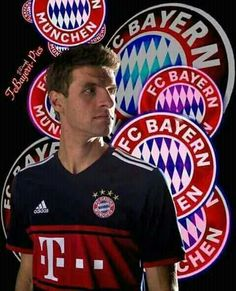 Thomas Müller and Bayern Munich: one of my favorite players, and my favorite German team. Liked them before it was cool. ;-)