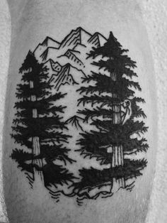 Sequoia trees tattoo by Sagent Staygold Click Here to See More TATTOOS like this.. TATTOOS.ORG