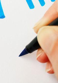 The Beginner's Guide to Brush Lettering